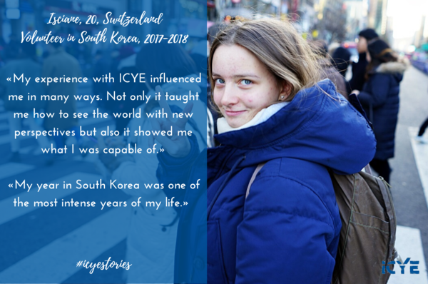 ICYE Swiss Volunteer in South Korea