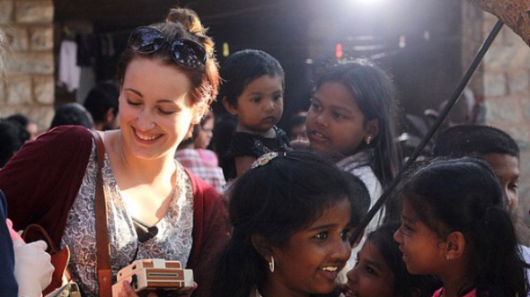 ICYE Volunteer Tamara in Indien